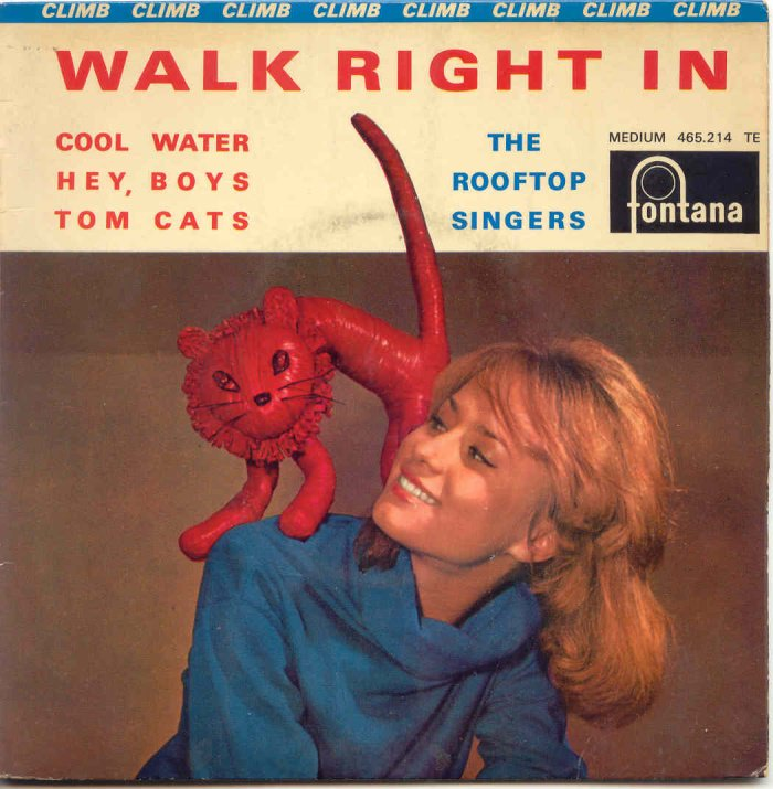 The Number Ones looks at the Rooftop Singers' chirpy folk song 'Walk Right In' https://t.co/OtCuZiUFol https://t.co/Rj5ZnSL11j