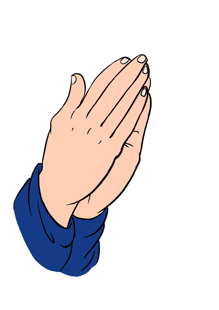 How to draw praying hands really easy drawing tutorial drawings.