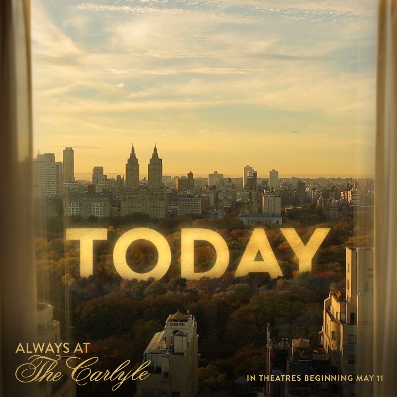 See #AlwaysAtTheCarlyle in theatres TODAY! gwi.io/9l2gna