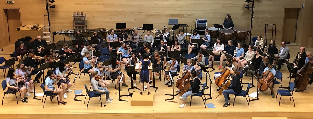 A sneak pic of symphony orchestra rehearsing ready for tonights @StSwithunsMusic founders day concert. #StSwithunsCreativity