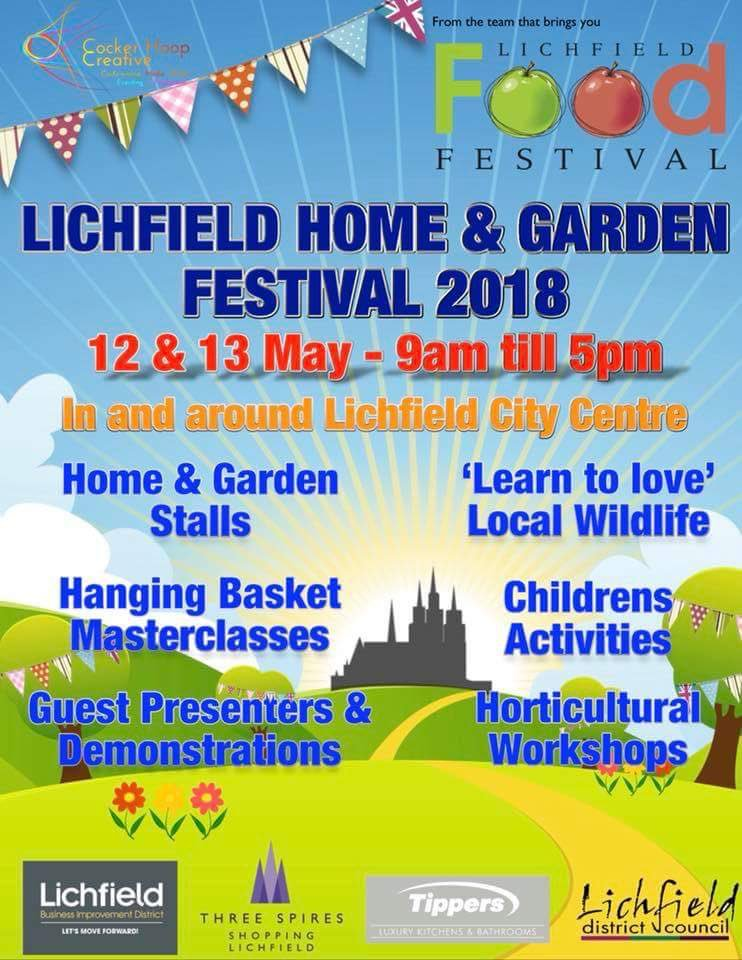 exciting home and garden party. 1 reply 8 retweets 11 likes Lichfield Food Fest  LichFoodFest Twitter