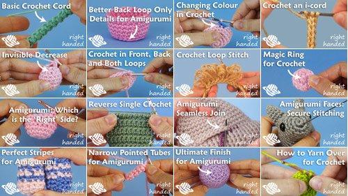How to… Finish Off | Amigurumi tutorial, Crochet videos, Crochet ... | 283x500
