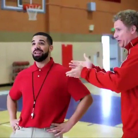Time for the Raptors to shake things up? ��  @Drake x Will Ferrell https://t.co/EjUHvoTpYv