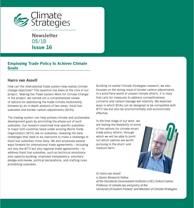 test Twitter Media - Climate Strategies latest newsletter is now available to download, with forward on #climate and #trade from @harrovanasselt + details on our #GCPC call for abstracts https://t.co/xHe7SCZYKA https://t.co/8UPEVcFPrX