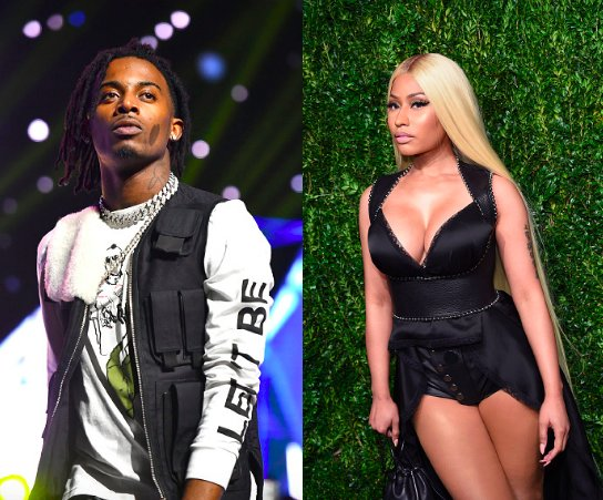 .@NICKIMINAJ links up with @playboicarti on the song 'Poke It Out.' Hear it: https://t.co/9Y2AMcqClB https://t.co/PKbcHbggqM