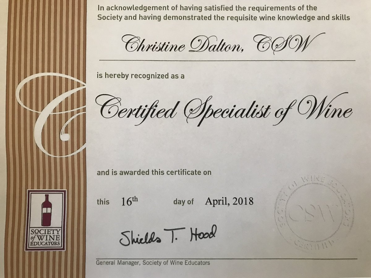 Christine Dalton On Twitter Thrilled To Be A Certified Specialist