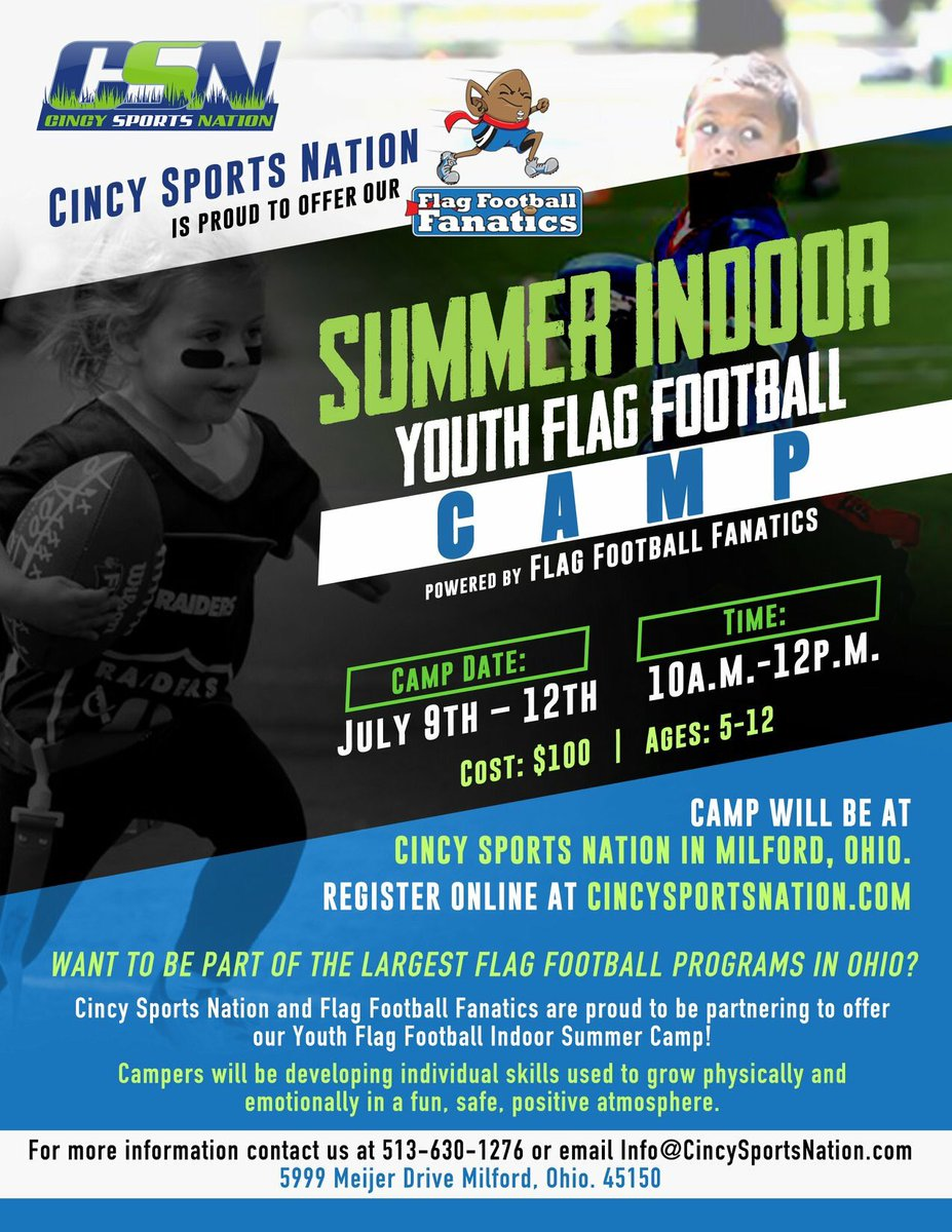 Allow your kids to learn the fundamentals of flag football in a fun 5e889e955