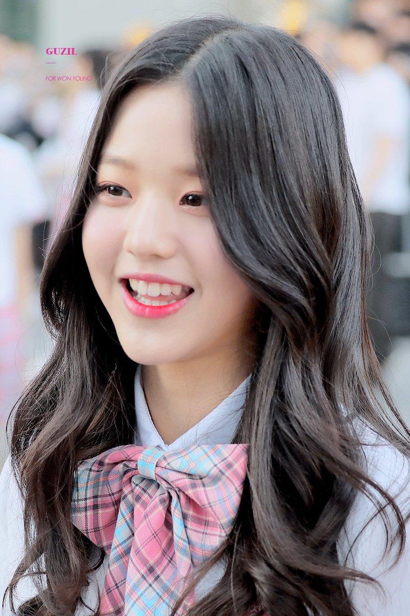"""produce 48 smiling on Twitter: """"⋅⋅⋅ jang wonyoung #장원영 ⇢ 180510 #PRODUCE48 .*˳✧༚… """""""