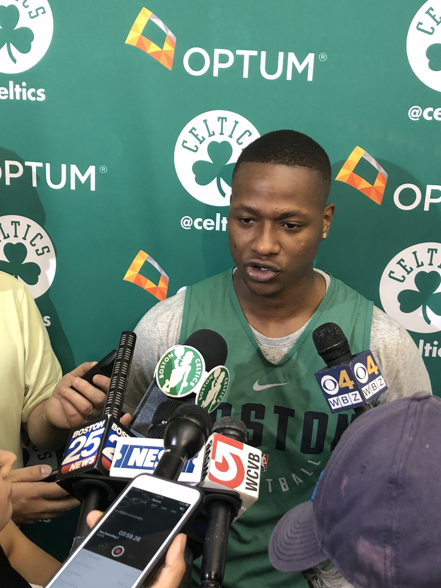 """""""Everyone was counting us out,"""" says Terry Rozier, """"but we knew from the beginning that we had each other."""" https://t.co/EB5Z4WaB1Q"""