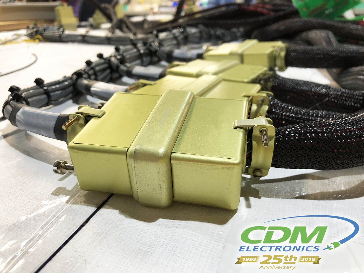Cdm Electronics Inc On Twitter Cdms Center Of Excellence Not Aerospace Wire Harness Assembly Image Only Produces Conventional Harnesses But Also Complex Custom Terminated Assemblies For Medical And Other