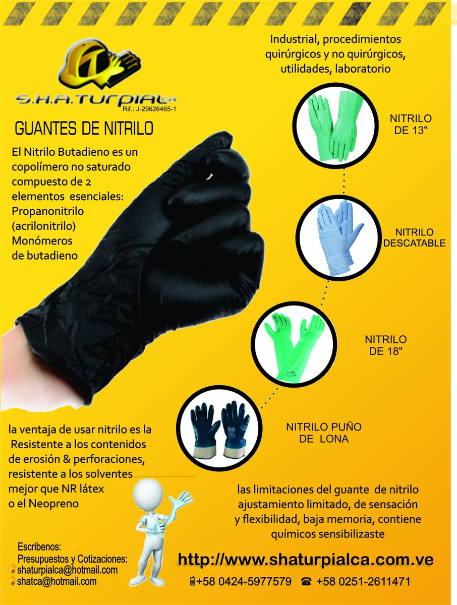 guantes para la industria
