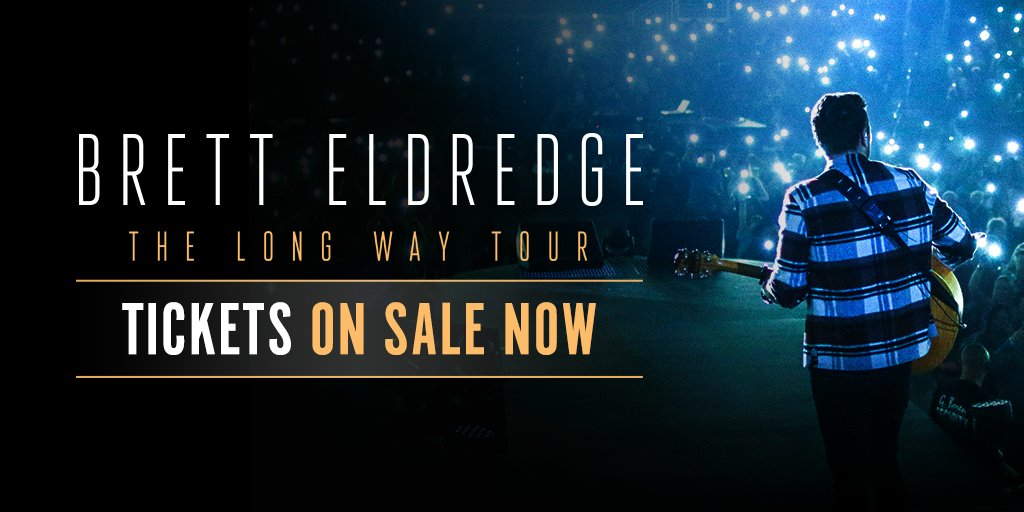 Tickets are now on sale for #TheLongWayTour! Which show are you coming to? https://t.co/UoA6bP5PJ9 -Team Brett https://t.co/HDijE4jXuc