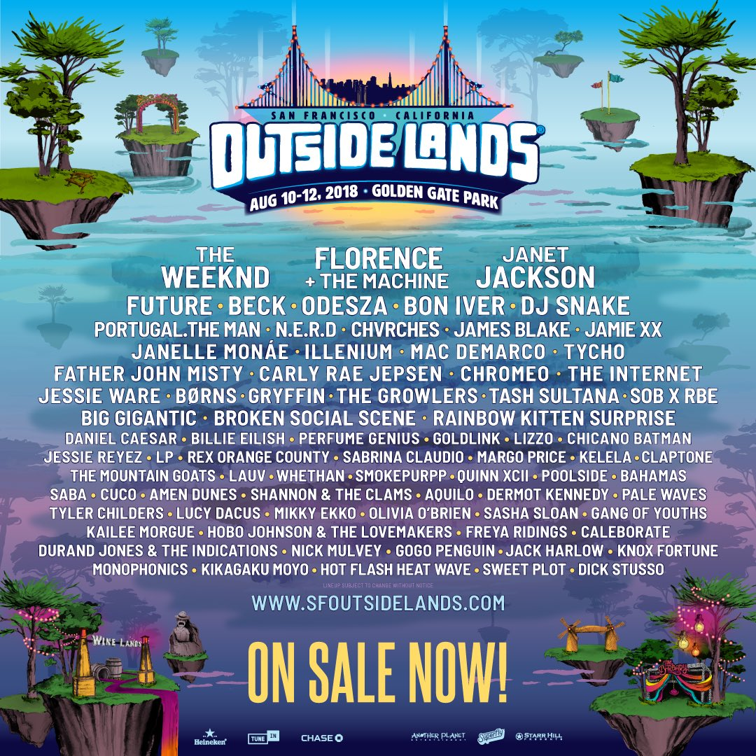 outside lands. on sale now bit.ly/2q0yEgd