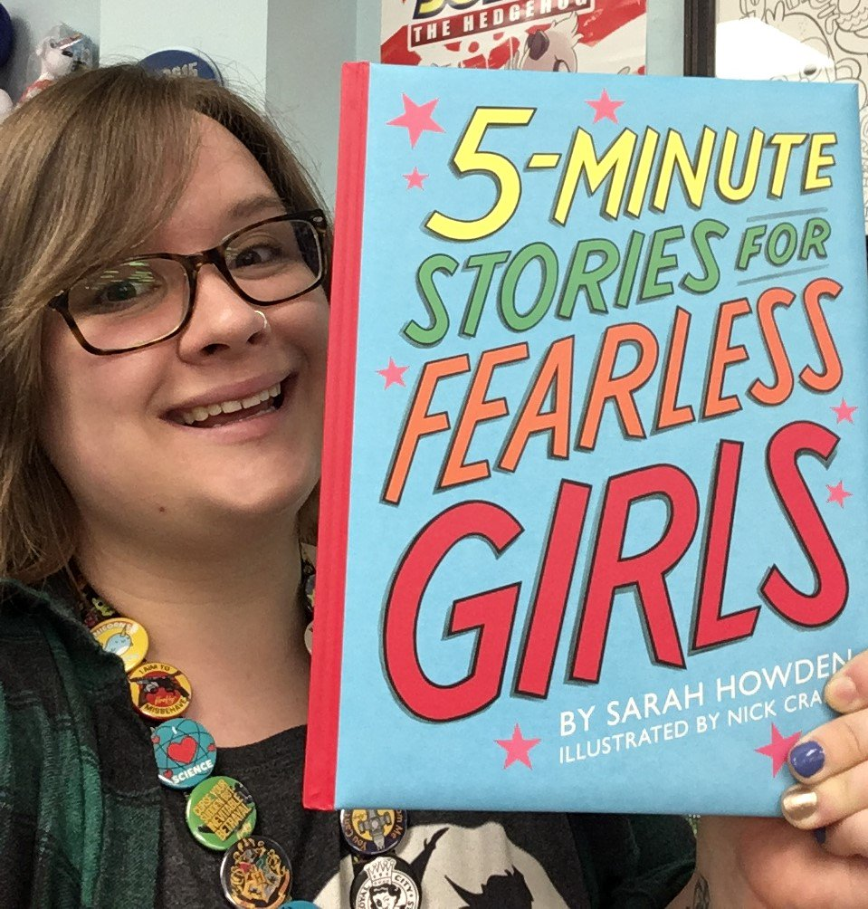 5 minute stories for fearless girls