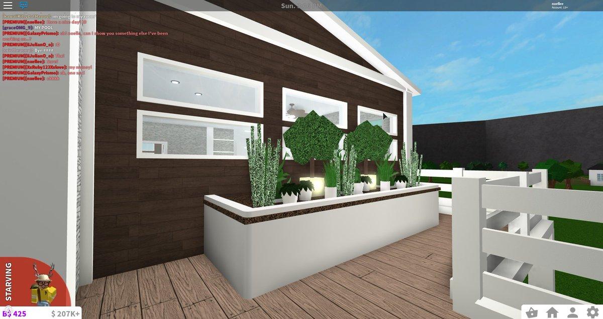Noelle C On Twitter Bloxburg Greenery Tree House 29k Https