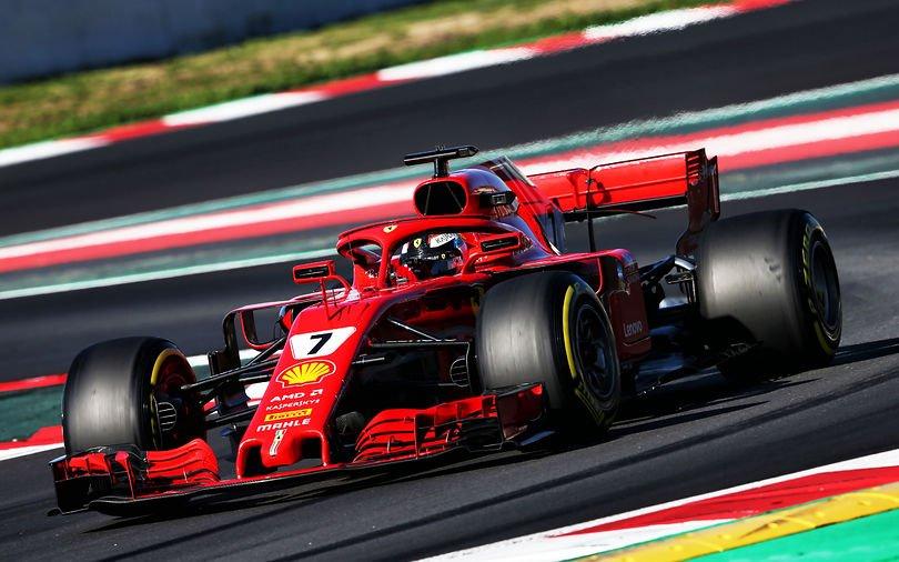Motort kell cserélni Räikkönen autójában!