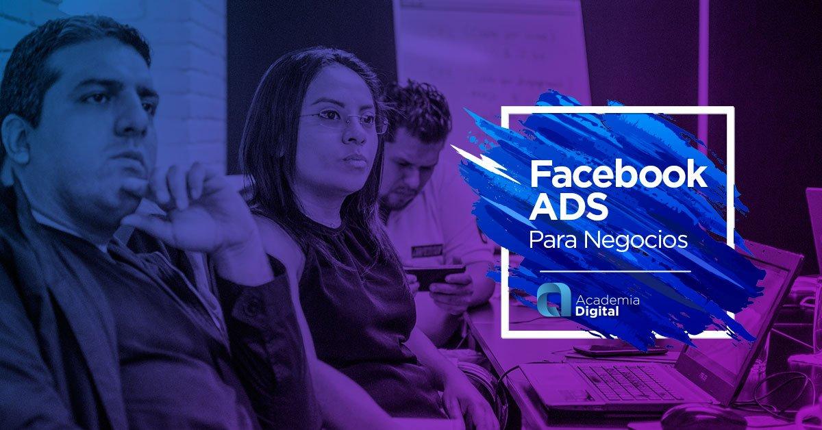 Nuestro Curso #FacebookAds para negocios está diseñado para que aprendas como crear Campañas de Publicidad en #Facebook para que obtengas los mejores resultados de negocio. https://t.co/zsNeTnZANh https://t.co/hH69SippxP