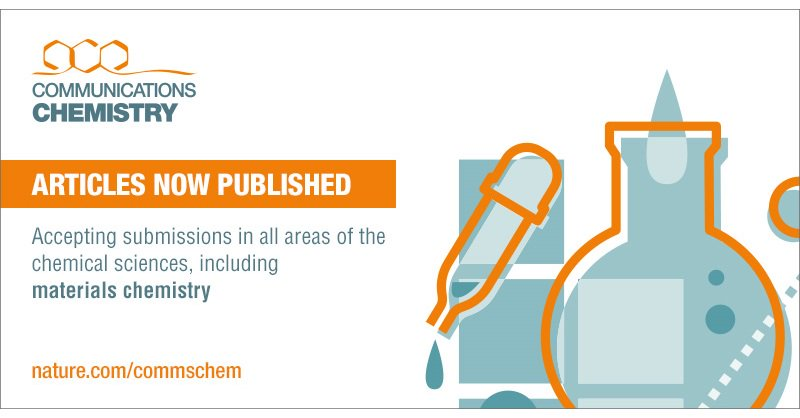 Communications Chemistry On Twitter Looking To Publish