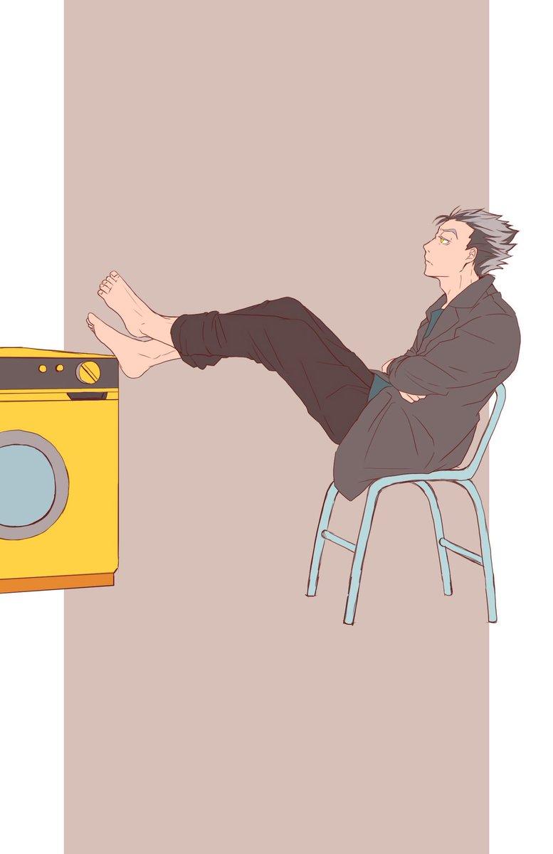 木野つらら Pa Twitter かっこいい男性の描き方 ポーズ研修中 赤葦 木兎 ハイキュー イラスト