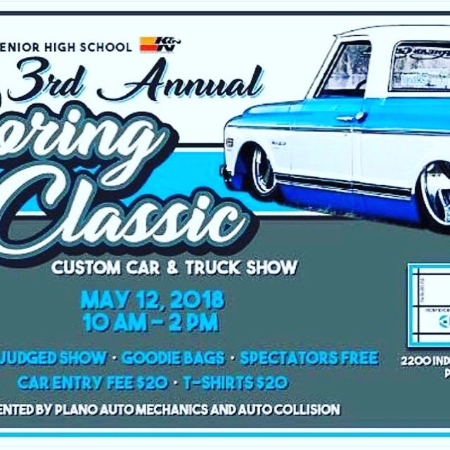 The Texas Pool On Twitter Super Cool Car Show At Plano Senior High - Plano car show