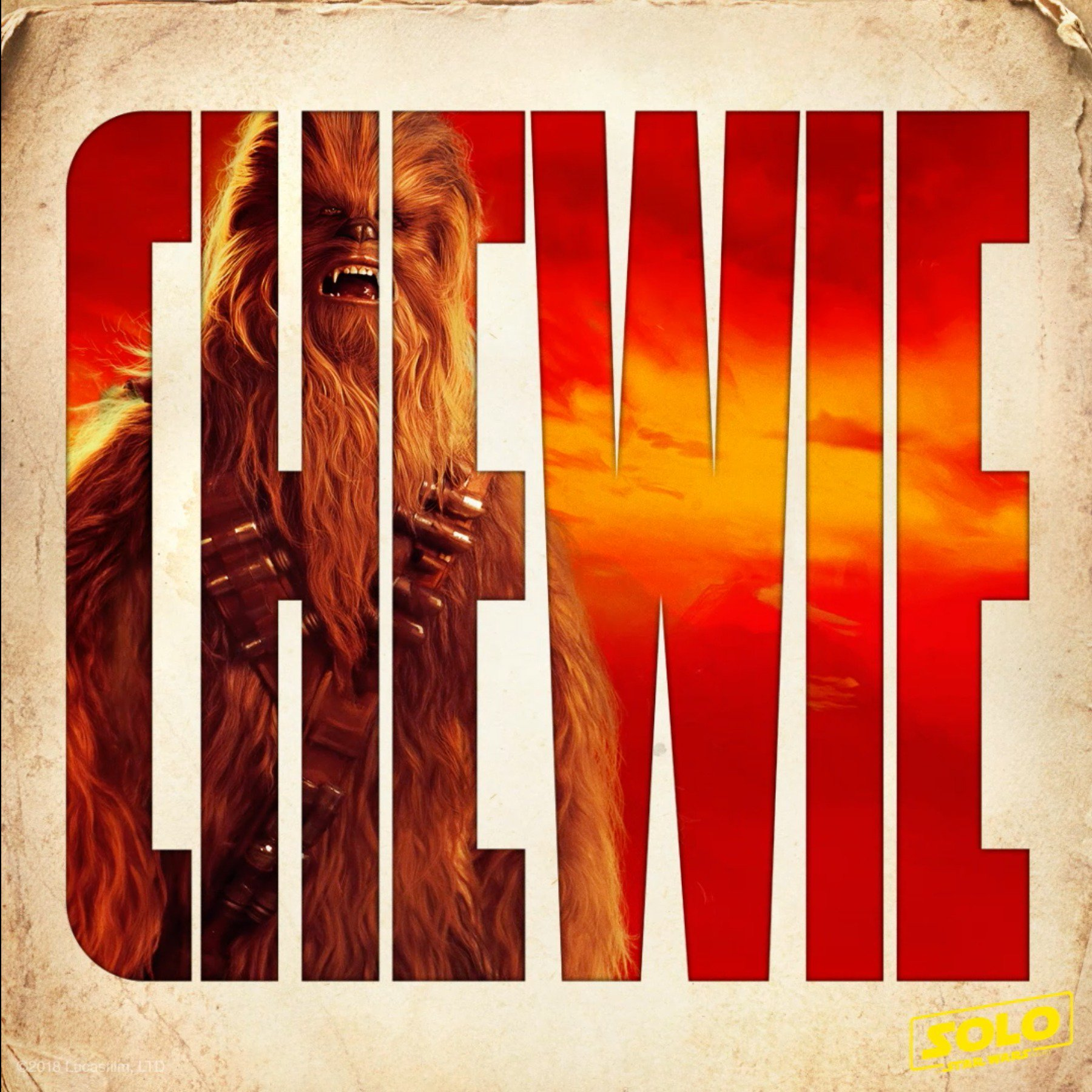 Reloaded twaddle – RT @starwars: Best co-pilot in the galaxy. See #Chewbacca in Solo: A Star Wars S...