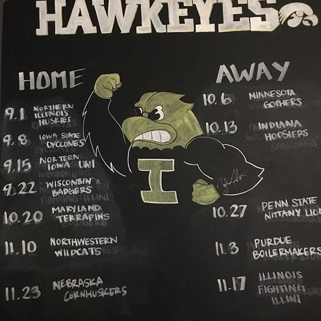 Football season will be here before we know it. #Hawkeyes #Fall https://t.co/ipYHJEWB7J