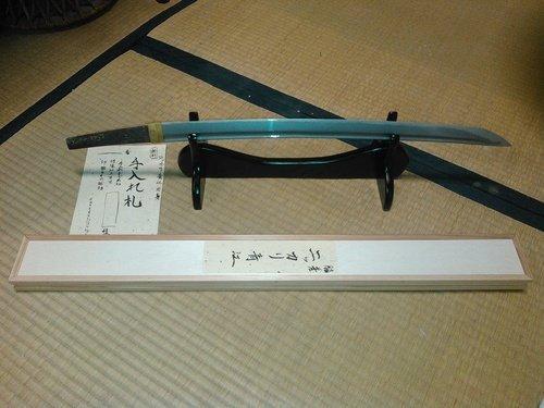 【名刀】「ニッカリ青江」模造刀、丸亀市ふるさと納税の返礼品に