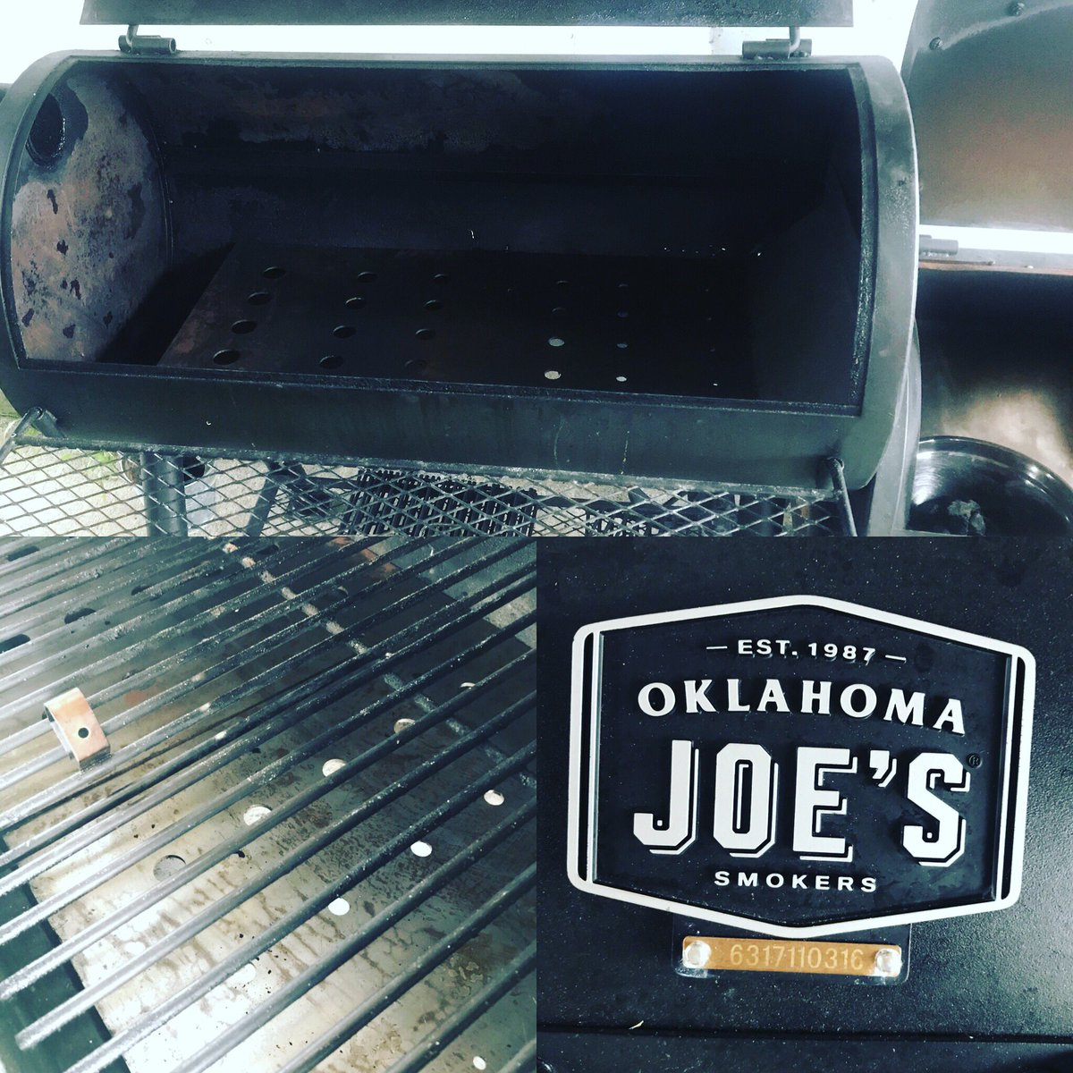 mattrondavis Baffle plates are in! Big thanks to #bluemoosebbq for