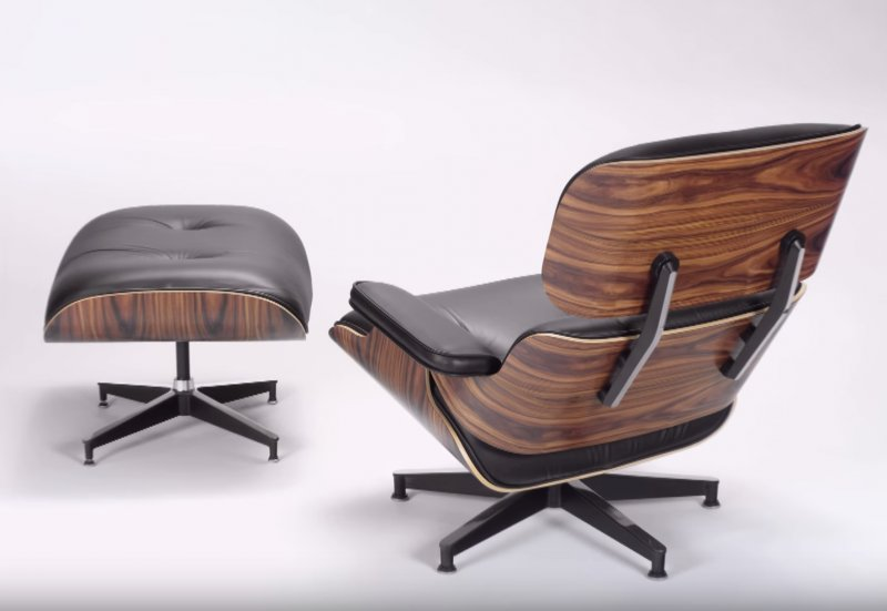 Fantastic Open Culture On Twitter How The Iconic Eames Lounge Chair Beatyapartments Chair Design Images Beatyapartmentscom