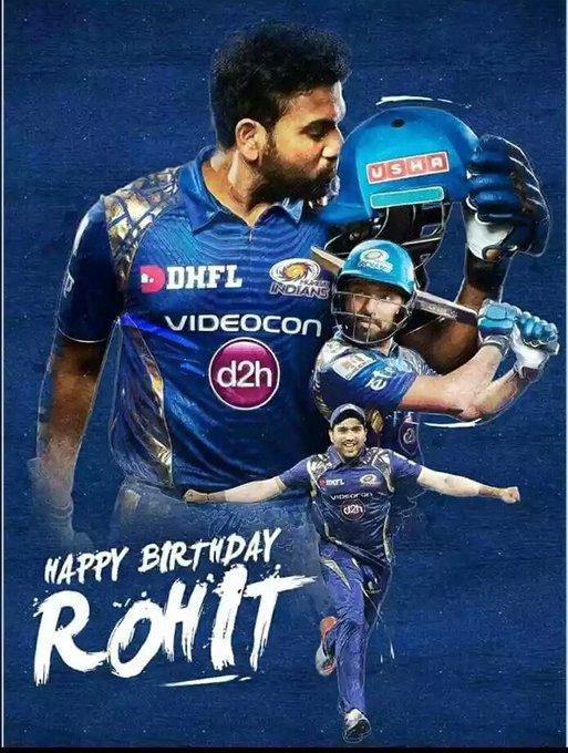 Happy birthday Rohit Sharma The Hit Man