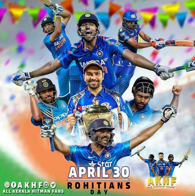 Happy birthday Rohit sharma We always with u no matter win or loss