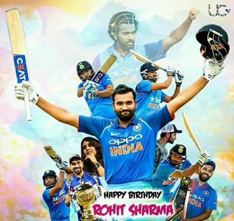 happy birthday Rohit Sharma sir