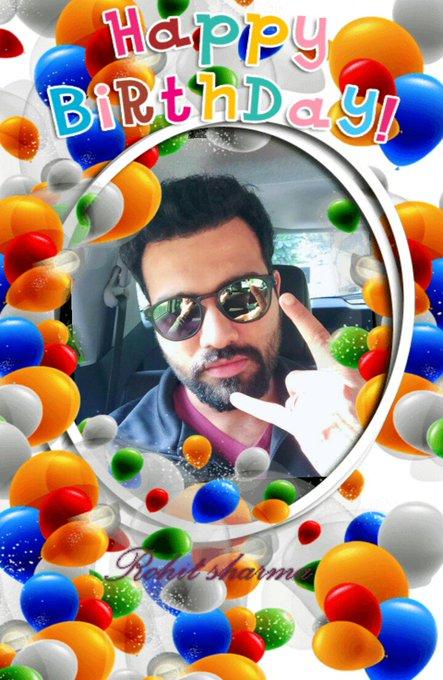 Happy Birthday Rohit sharma bro