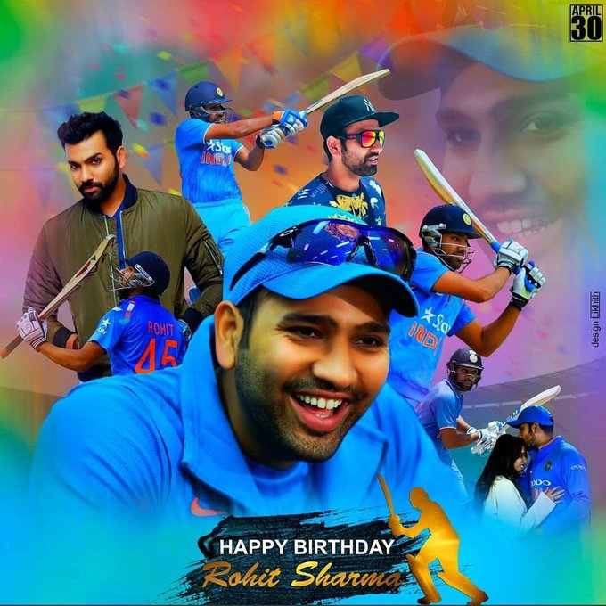 Happy Birthday Hitmen Rohit Sharma