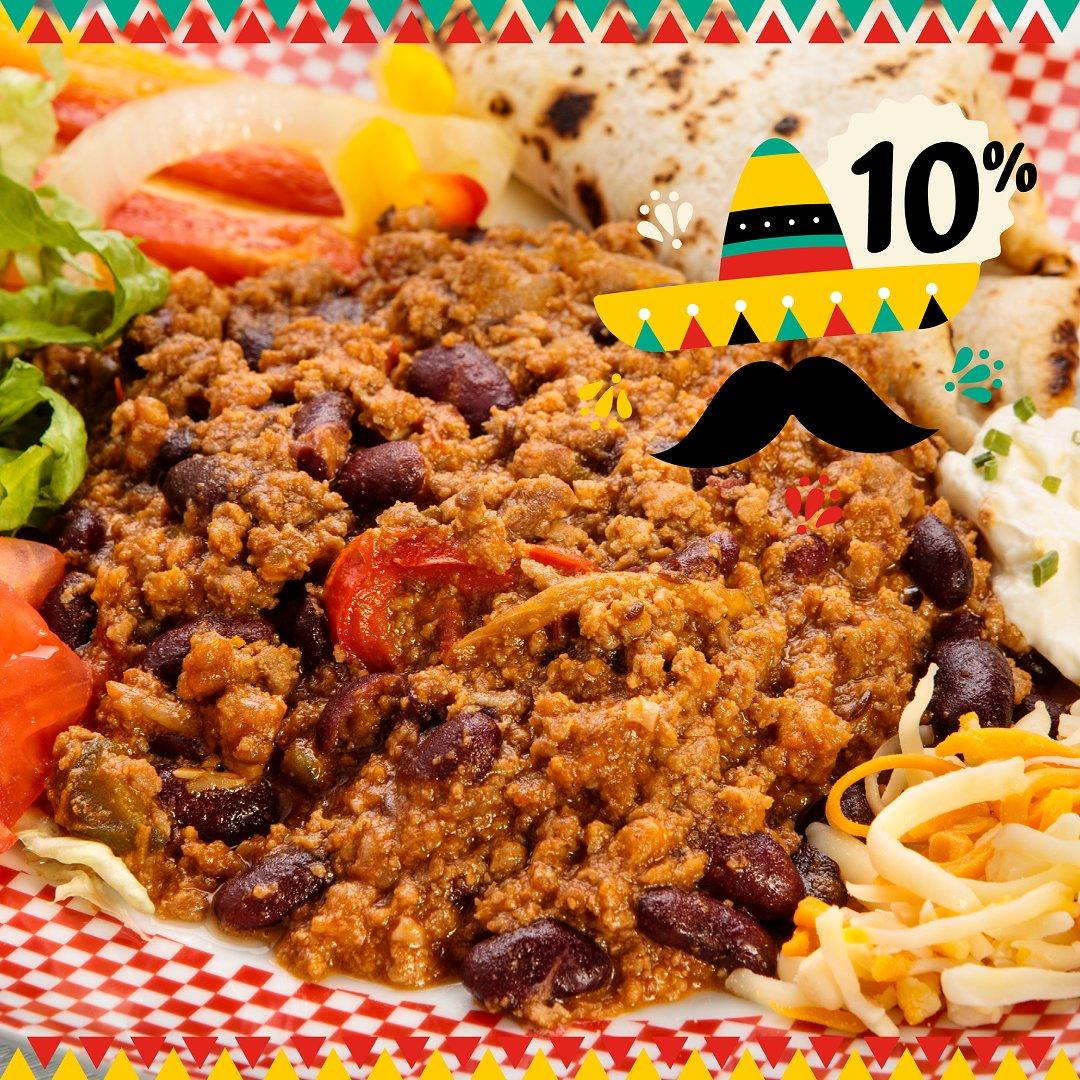 👉¡Epa! ¡Epa! ¡Ándale! ¡Arriba! ¡Arriba! 👈Dal 30 aprile al 6 maggio 10% di SCONTO😜 sul TEX MEX🇲🇽 #CincoDeMayo #Fiesta scopri i dettagli della promo https://t.co/j8uQXQRUy9 #Food #mexico #vivamexico #texmex https://t.co/PVX8JAcqOH