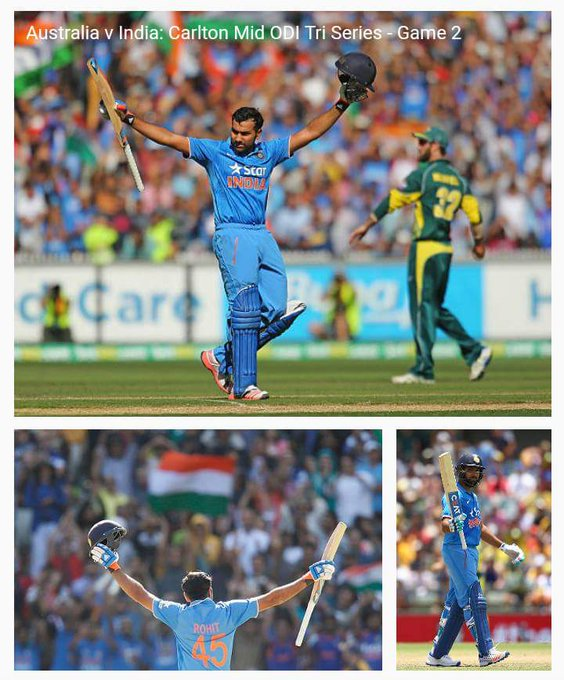 Happy birthday to indian rocking legend batsmen Rohit sharma....