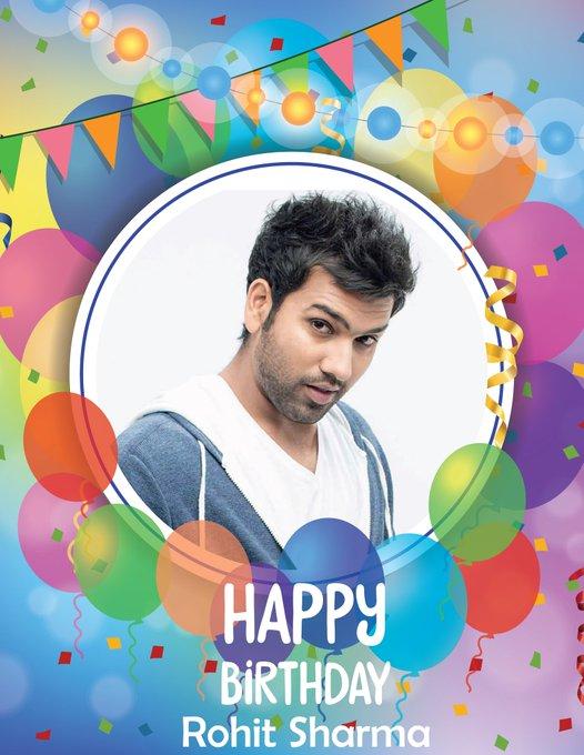 Happy birthday to Rohit Sharma