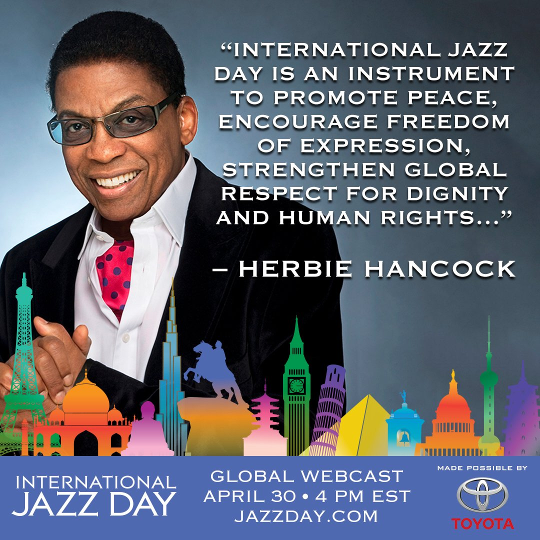 Reloaded twaddle – RT @IntlJazzDay: Welcome to #InternationalJazzDay We have events in more than 19...