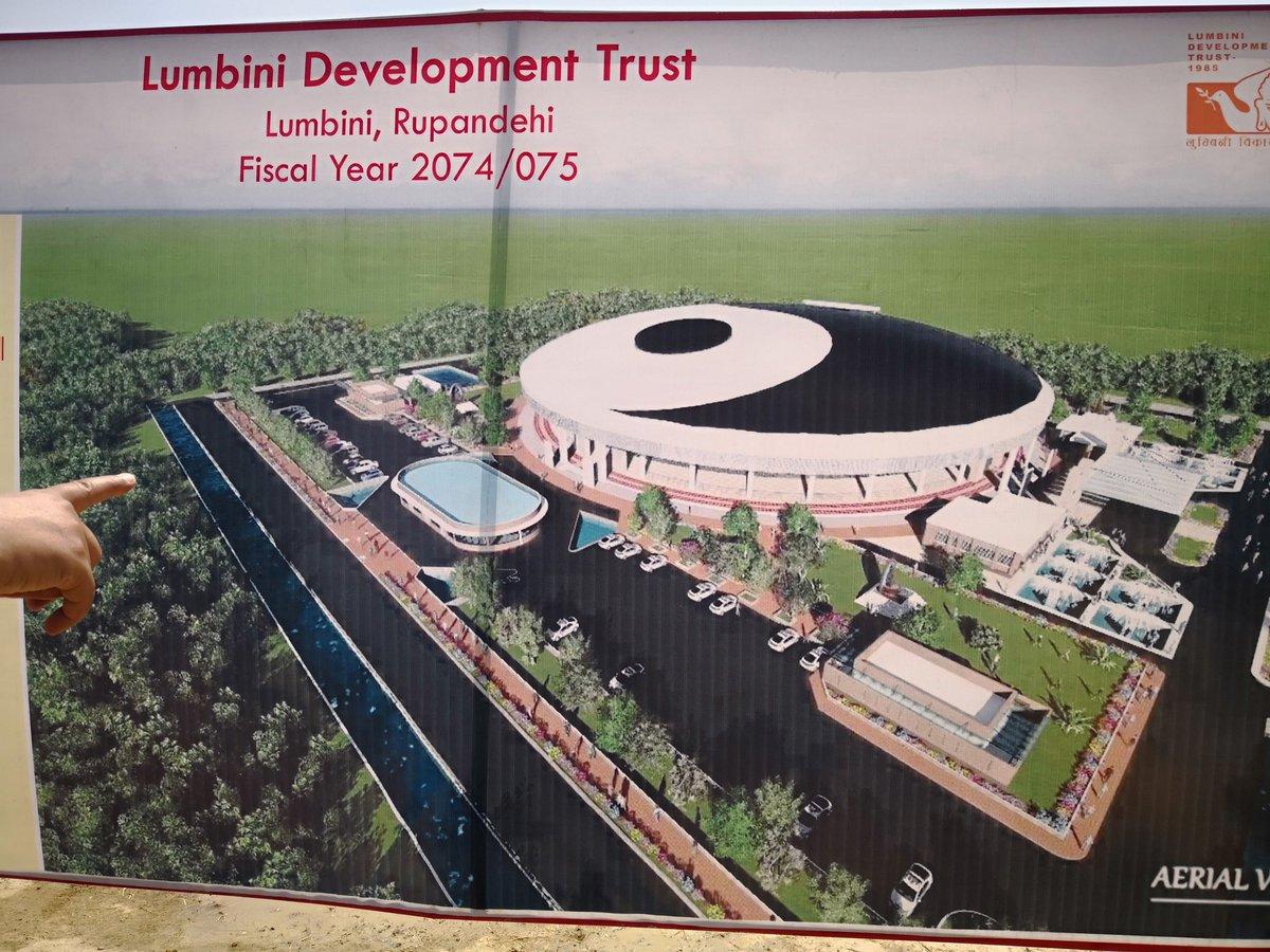 यसरी बन्दैछ लुम्बिनीमा पाँच हजार अट्ने अन्तर्राष्ट्रिय बौद्ध ध्यान केन्द्र