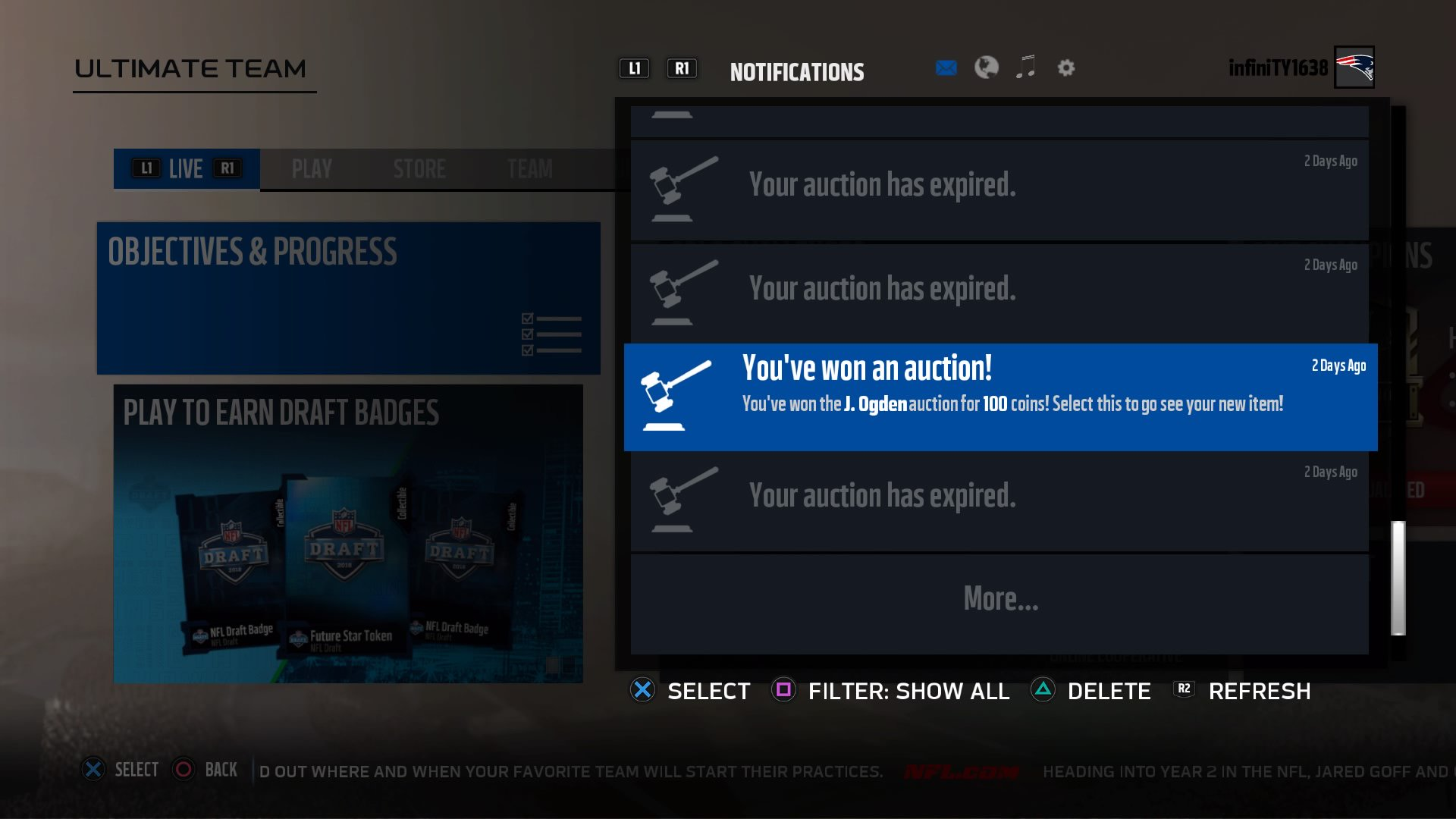 100 coins snipe