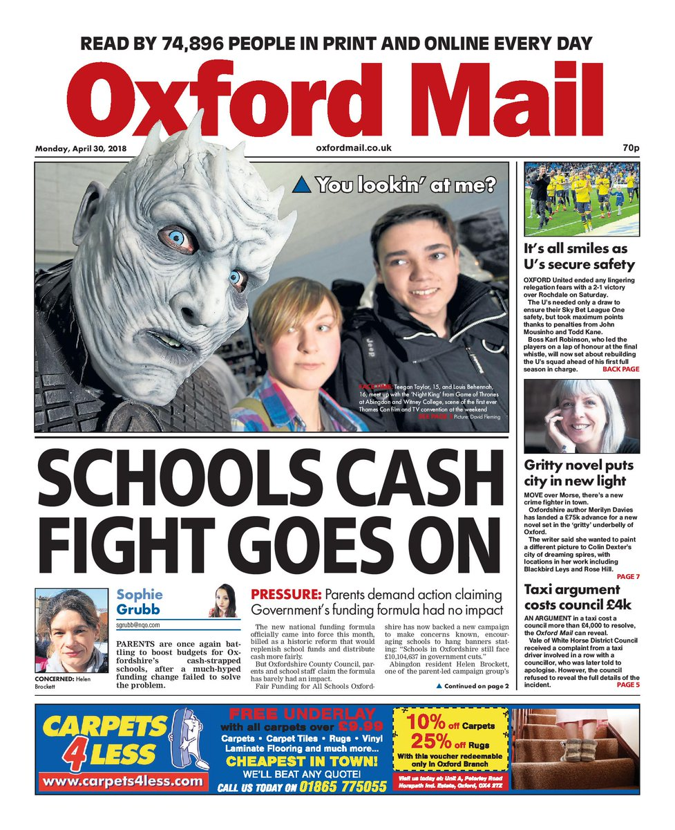 oxford mail news today