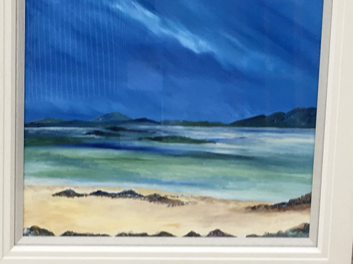 Two of favourite art pieces sold  @OSAyrshire weekend. Thanks to everyone who came along lots of great people and lots of sales. I really appreciate everyone's support. #seascape #paintings #Scotland #scottishart #scottishartists #artistsontwitter<br>http://pic.twitter.com/NUDlMmNx20