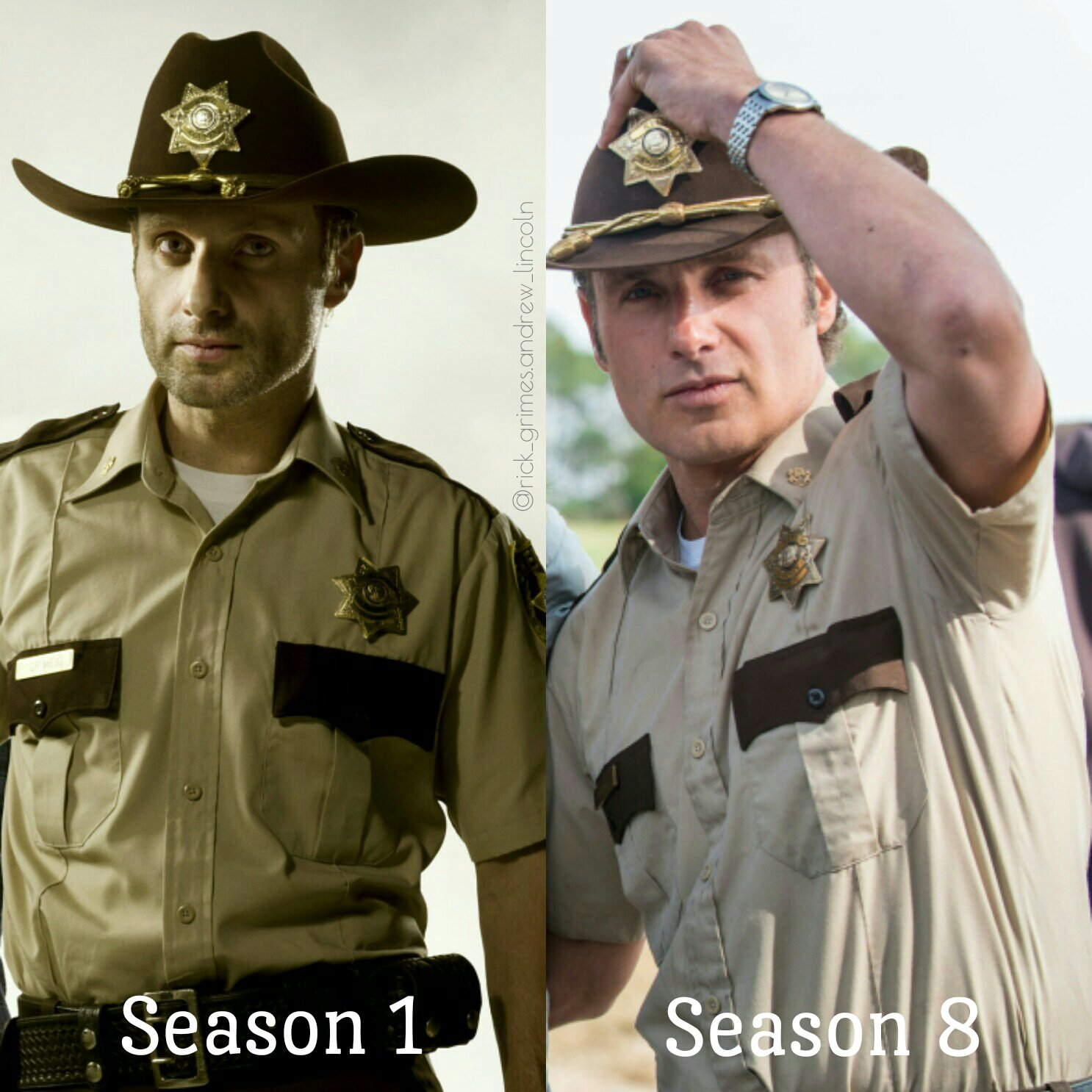 rick grimes andrew lincoln on twitter quotwhich sheriff