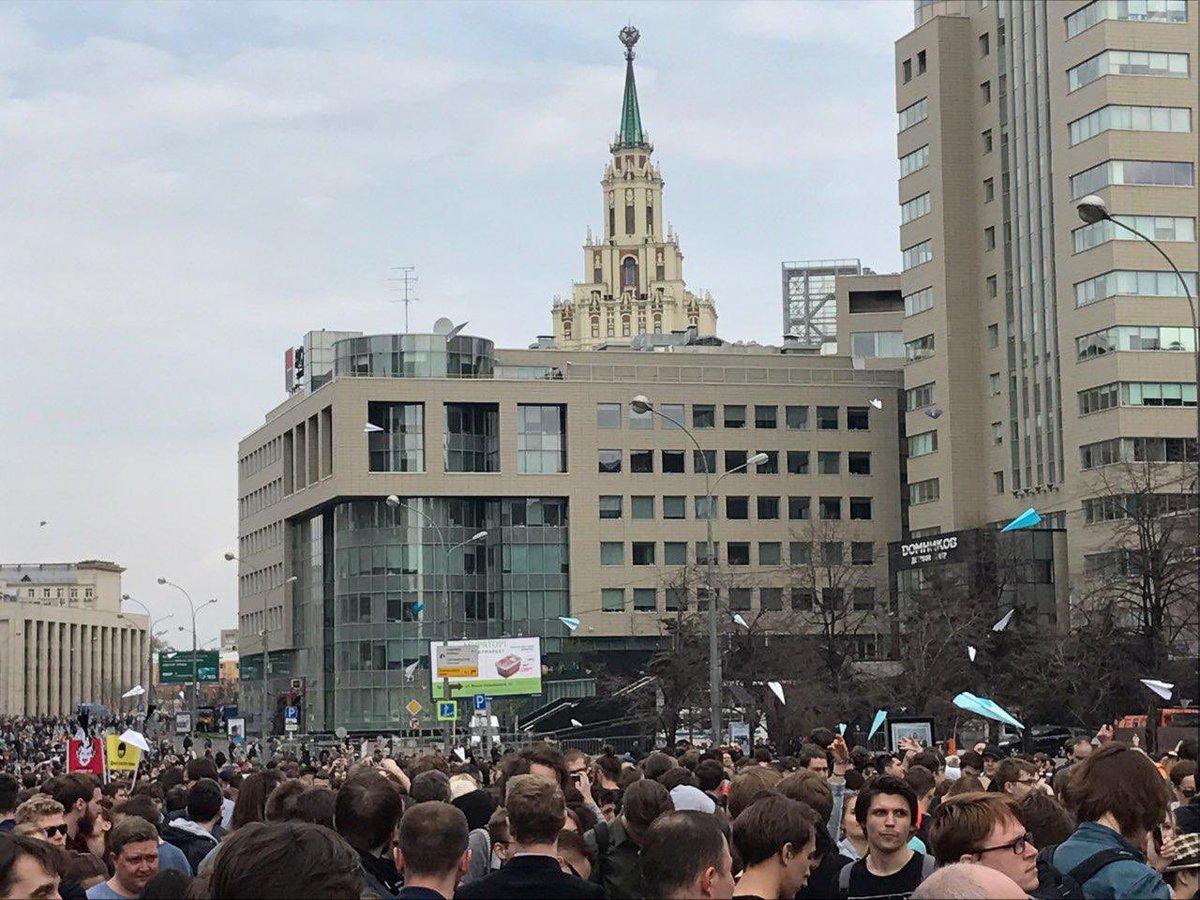 Понад десять тисяч осіб вийшли на мітинг у Москві проти закриття Тelegram - Цензор.НЕТ 5550