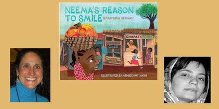 test Twitter Media - Hear how the power of education and a librarian are part of the backstory for Neema's Reason to Smile, a new, BEAUTIFUL picture book by Patricia Newman @PatriciaNewman, illustrated by Mehrdokht Amini. Listen at https://t.co/6IuqFVRwQk https://t.co/0vOPstKESg