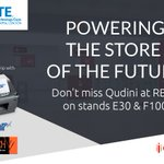 Only two more days until doors open at the biggest retail technology event in the calendar @rbtexpo. Don't miss Qudini and partners @SkratchAV and @StarEMEA on stands E30 and F100. For more information, contact info@qudini.com #retail #tech