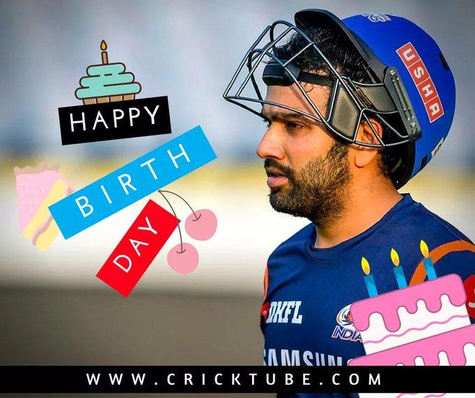 CRICKTUBE wishes a very Happy Birthday to Mumbai Indians captain Rohit Sharma.