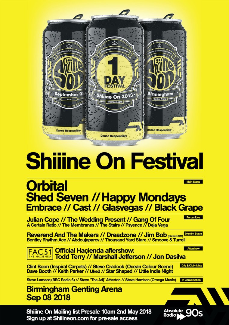 Shine On Birmingham - other UK festivals - Festival Forums