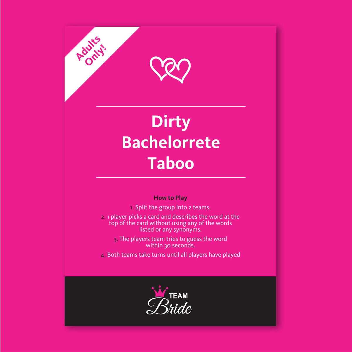 Hen Party Games Bride Squad Hen Night Dirty Riddle Drinking Games Funny