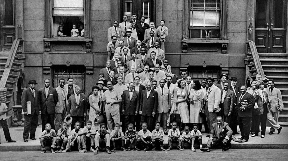 #InternationalJazzDay A Great Day in Harlem, 1958 Photo by #ArtKane